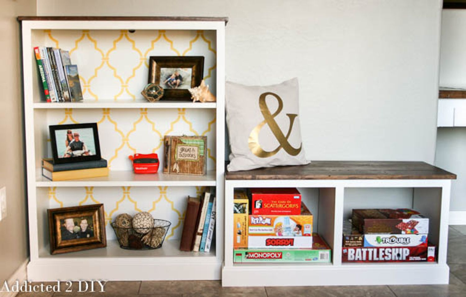 it pair a diy pin z bookshelves spare bookcase