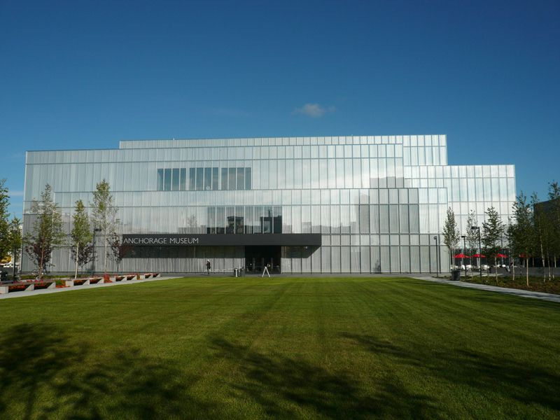 Picture of Anchorage Museum in Anchorage Alaska © Angela M. Brown (2010)