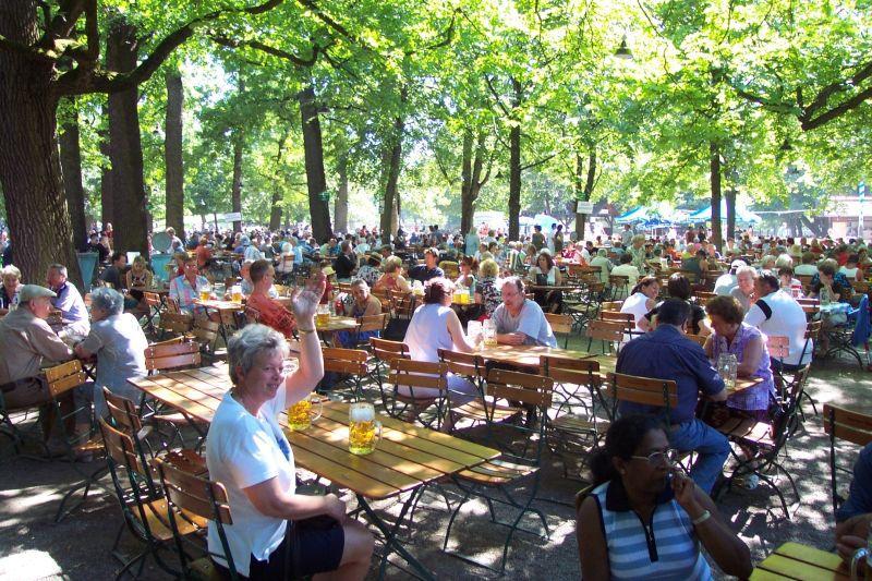 best munich beer gardens