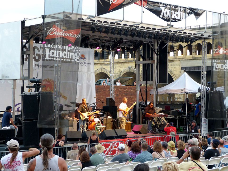 Big Muddy Blues Festival at Laclede's Landing in St. Louis