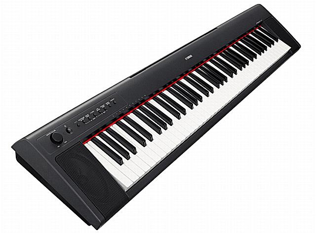 Yamaha NP-31 76-key digital piano.