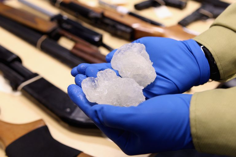 Police 'Operation Slab' Seize Methamphetamine And Weapons In Auckland