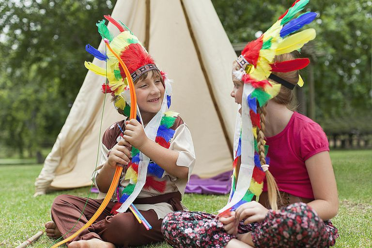 Children dressed as Indians unintentionally perpetuate racism.