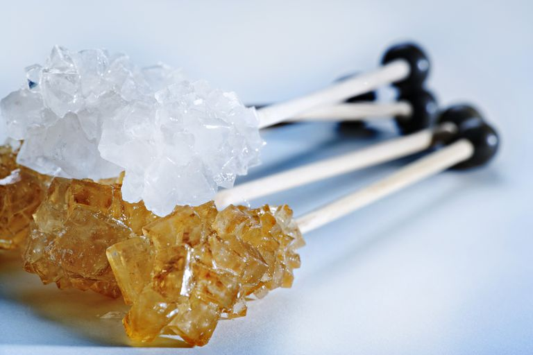 Sugar crystals may be easier to eat than they are to grow.