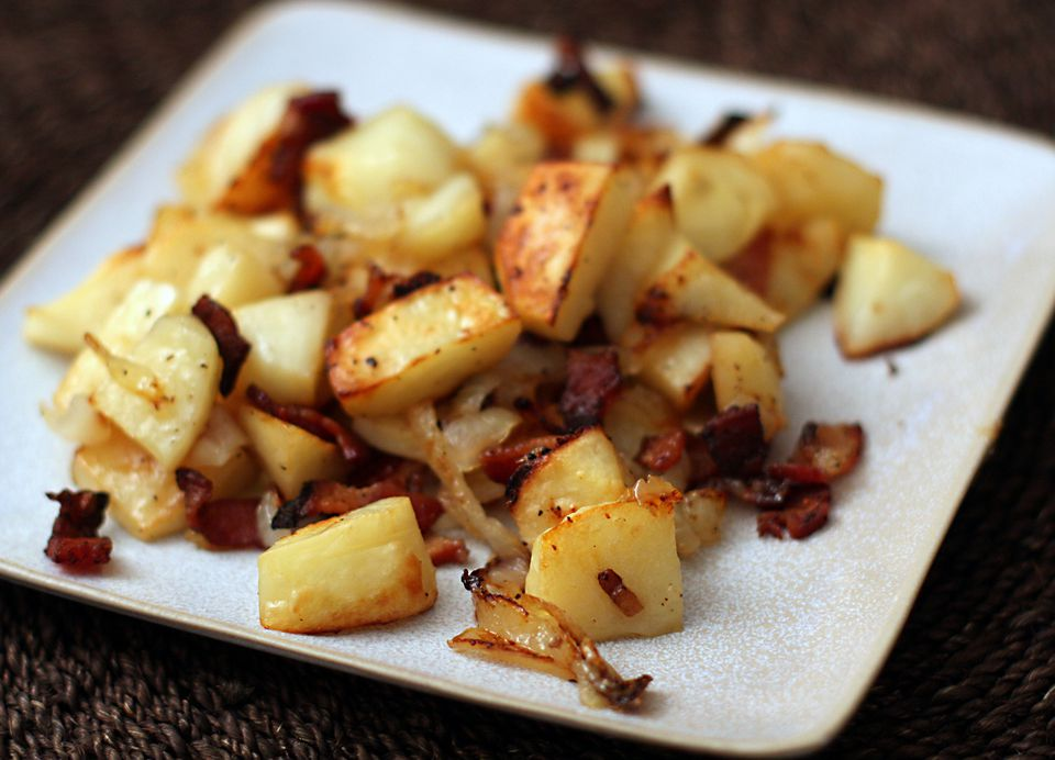 Roasted Potatoes With Bacon