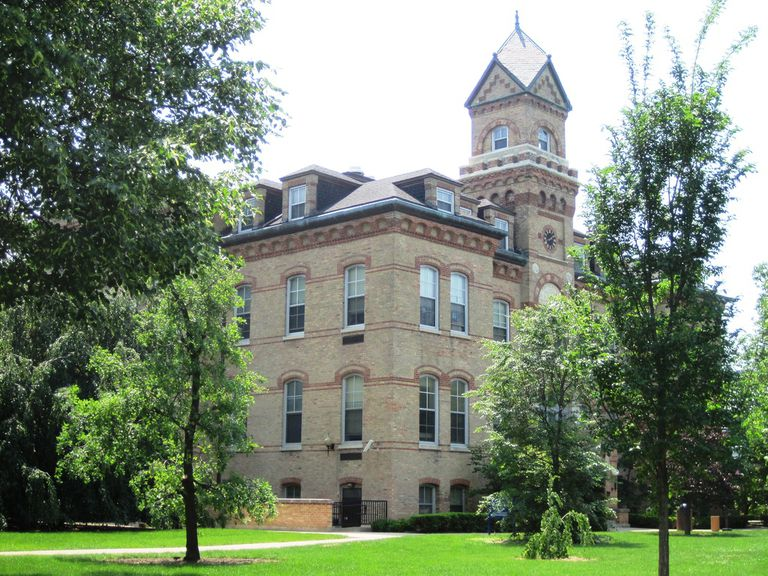 Old Main at Elmhurst College