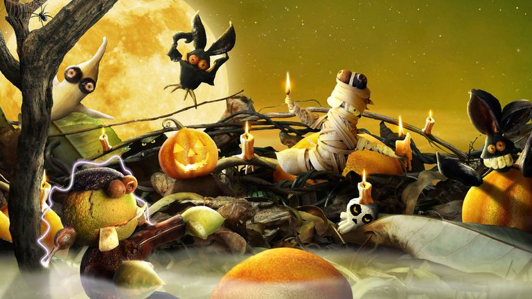 Halloween wallpaper you can use on your Mac