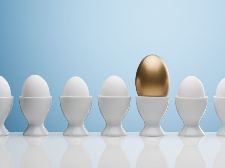 How IRAs hold the golden egg.