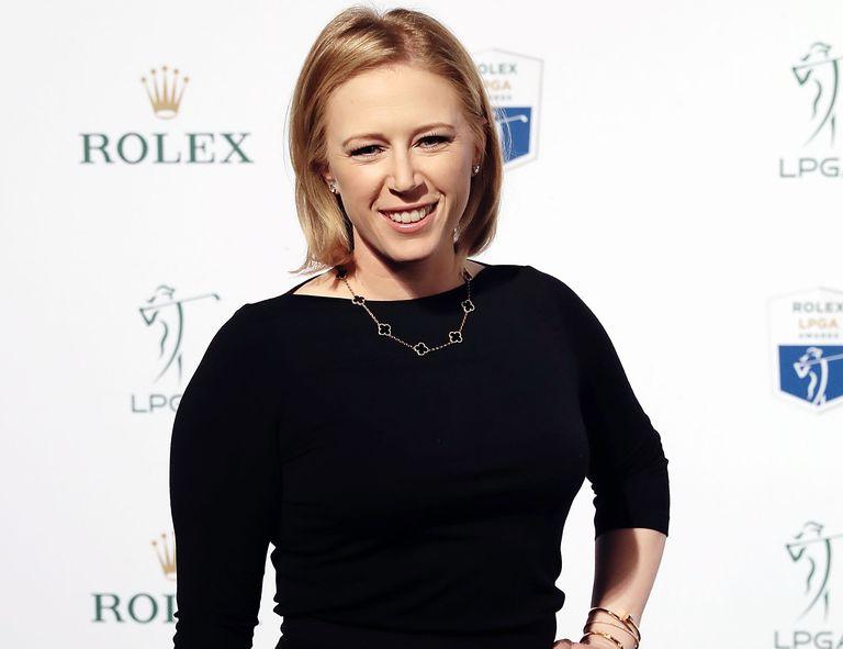 Morgan Pressel at the 2016 LPGA Rolex Players Awards