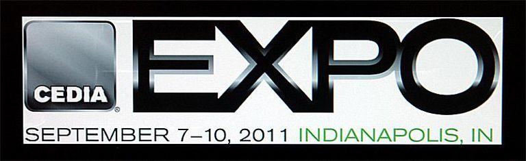 Photo of the Official CEDIA EXPO 2011 Logo
