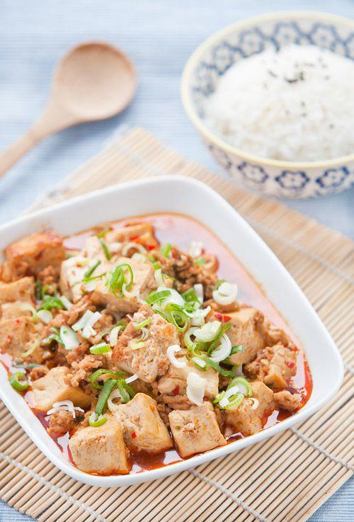 Authentic Mapo Tofu photo and Recipe
