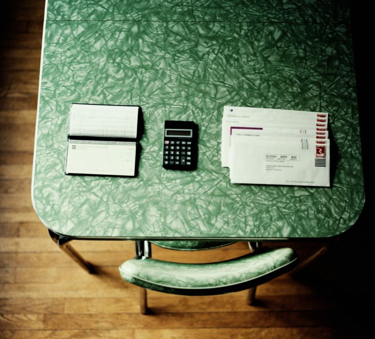 Table and Bills