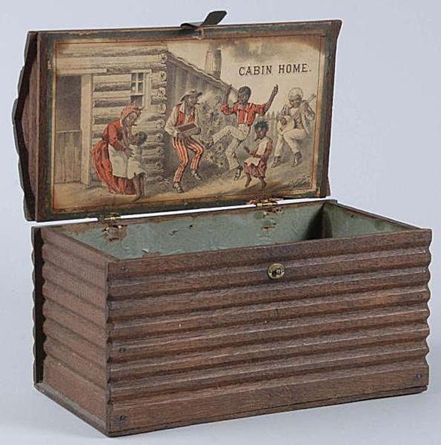 Cabin Home Cigar Box 1880s