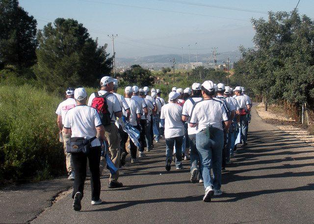 Gilboa Walk - 20K Israeli Walking Group Day 1 - Israel
