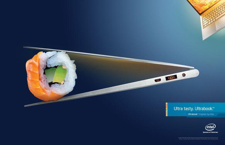 Intel Ultrabook Ad Showcasing Thin Profile