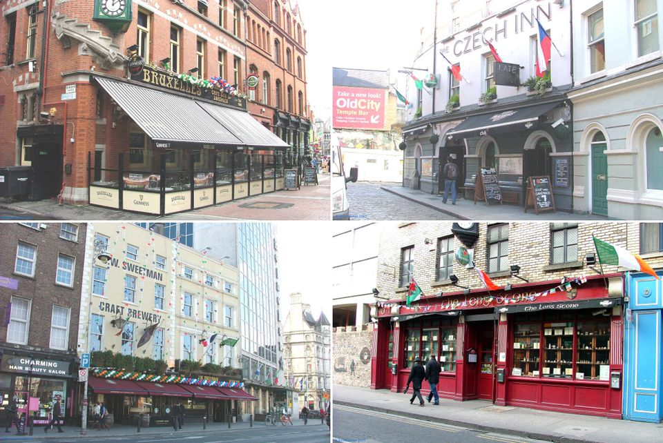 They are often big and brash - Dublin's liveliest pubs.