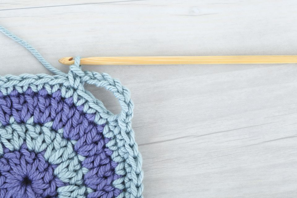 Skipping in crochet