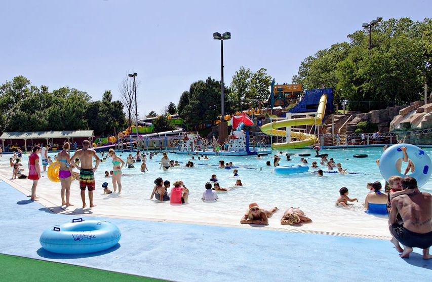 Oklahoma water park White Water Bay.
