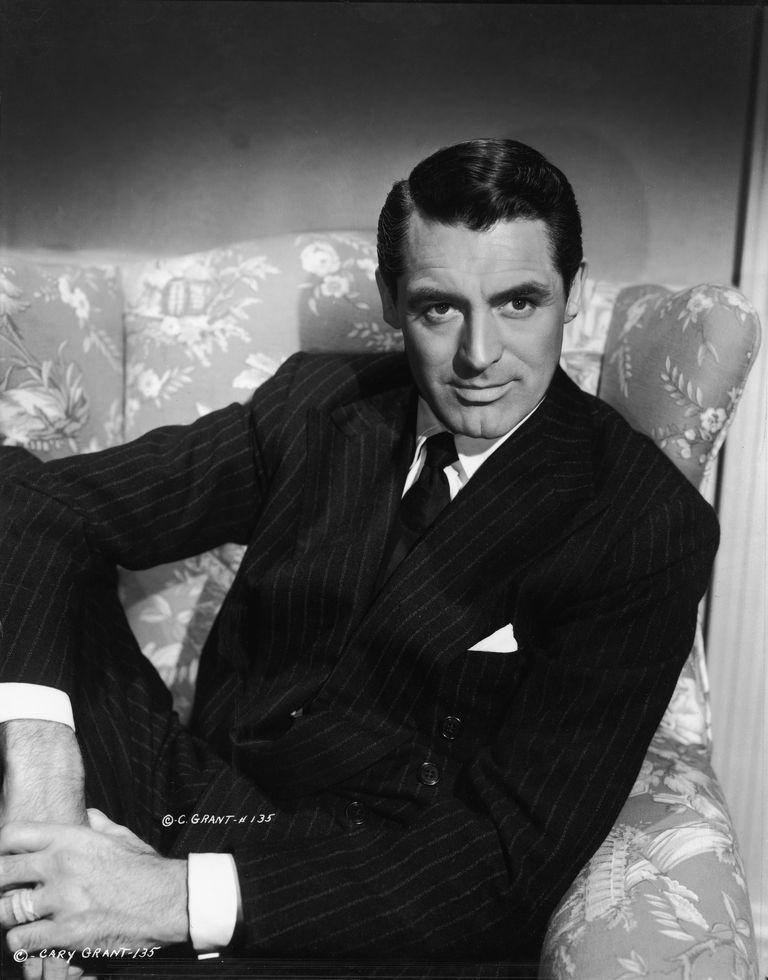 Picture of famous actor Cary Grant.