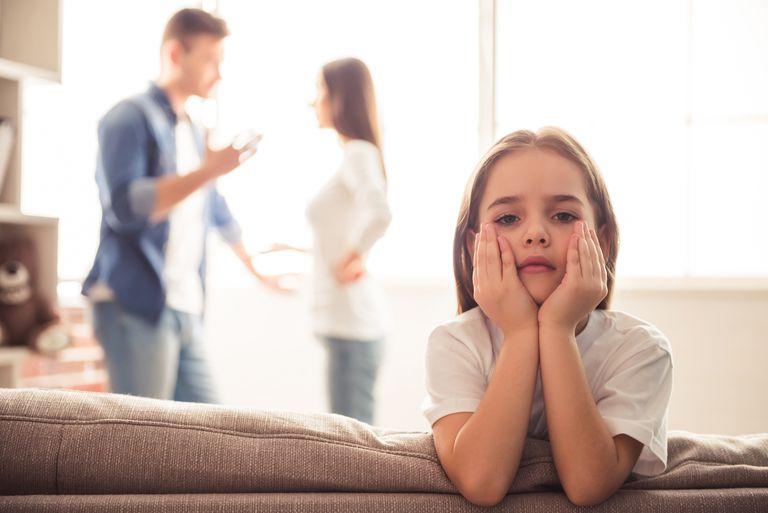 Unhappy young family