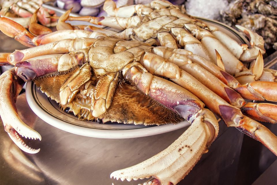Dungeness Crab at Fisherman's Wharf, San Francisco
