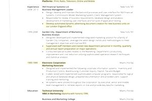 how to write a one page resume - How To Write A One Page Resume
