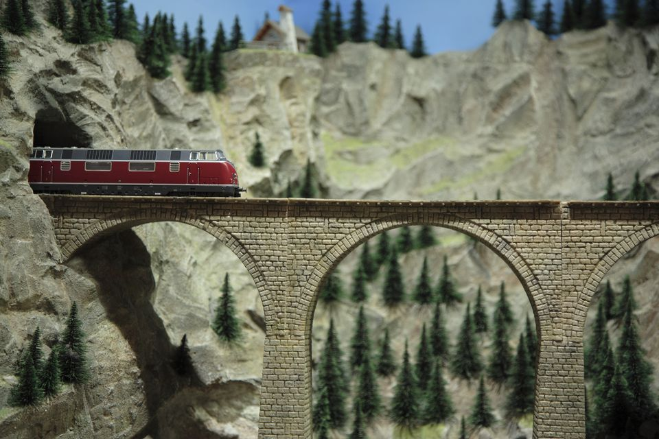 Model Railway Train