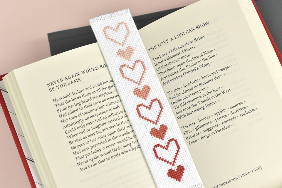 Use Your Heart Bookmark for Romantic Reading