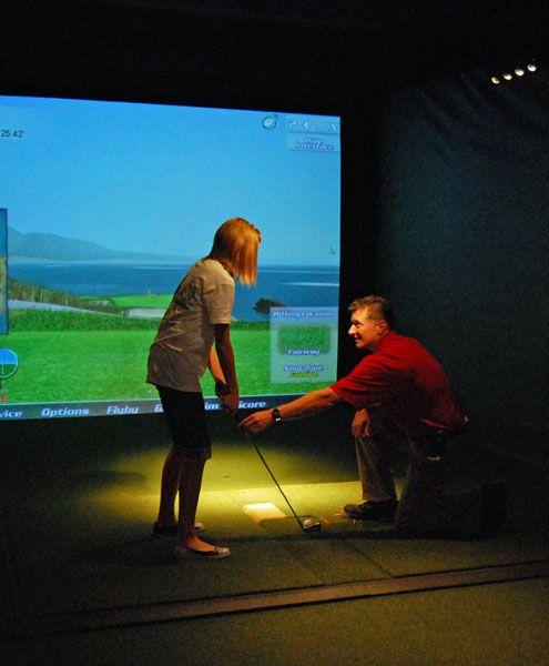 CrossWoods Indoor Golf Center in Phoenix