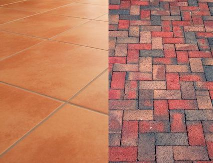 Natural Stone and Ceramic Hard Tile Compared