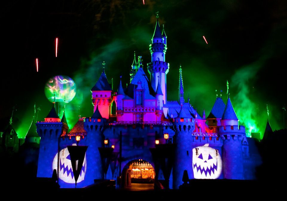 Halloween Time at Disneyland in Anaheim, California