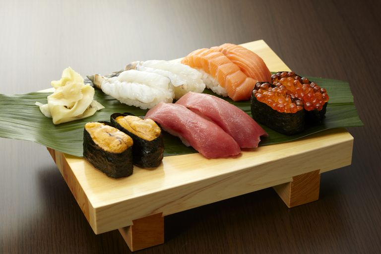 where can gluten hide in sushi?