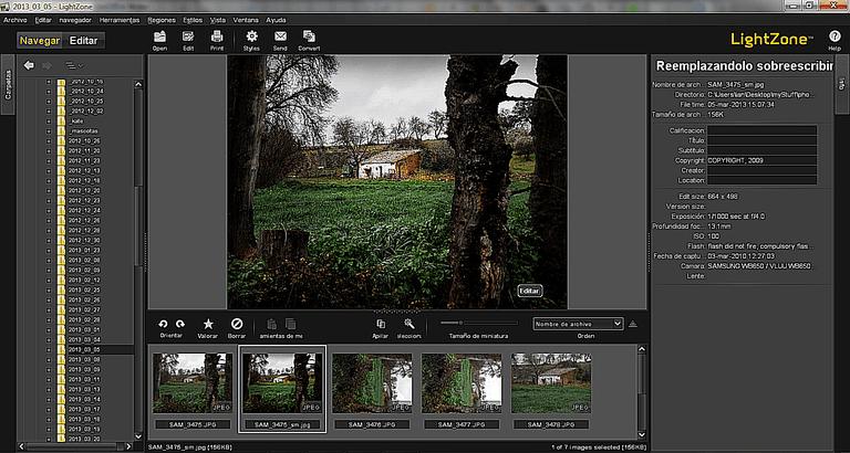 Lightzone Review - Free Darkroom Software