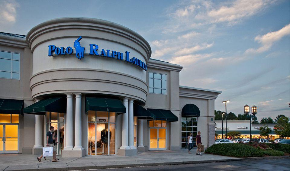 Polo Ralph Lauren storefront at Carolina Premium Outlets