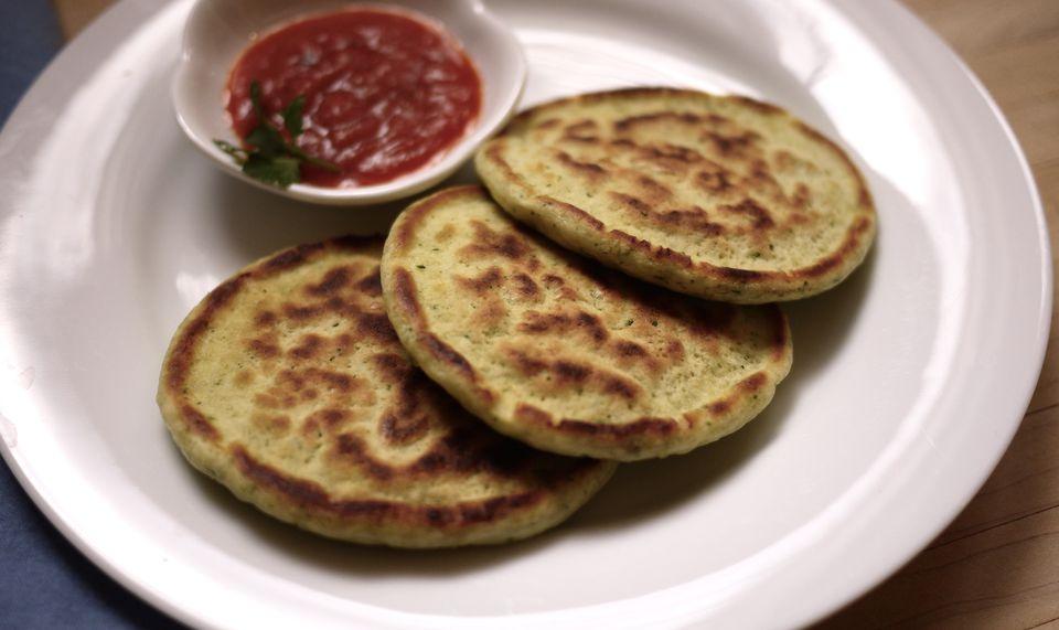 Savory Broccoli Pancakes