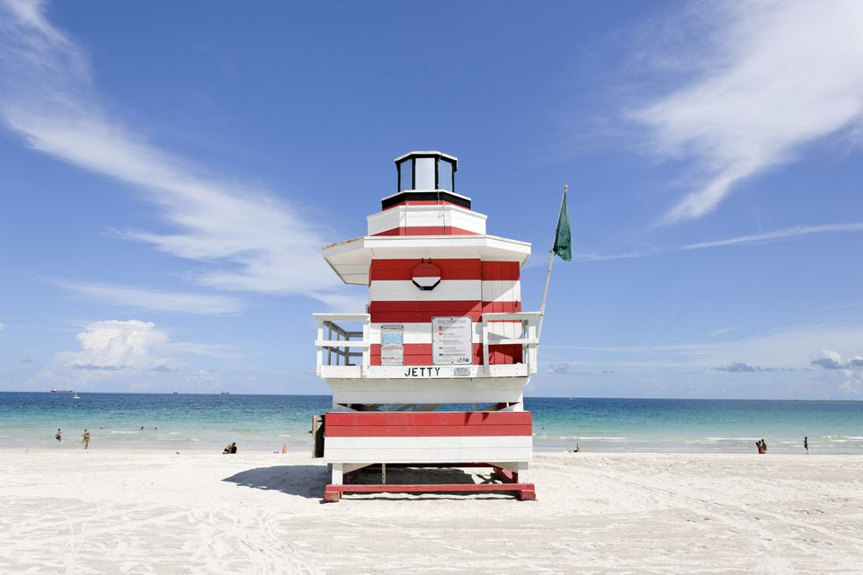 Lifeguard Tower of South Pointe Park