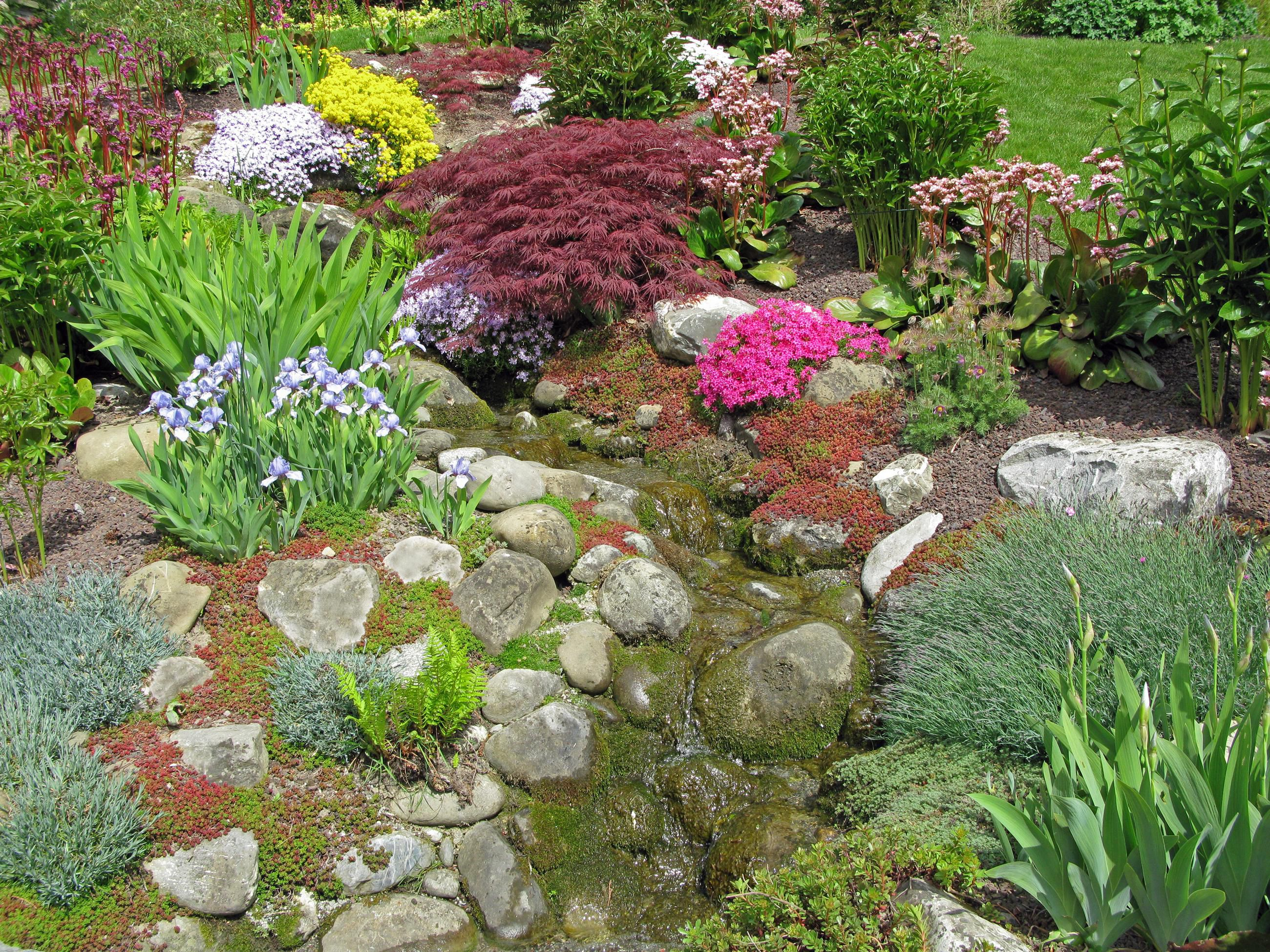 how to build rock gardens photo tutorial