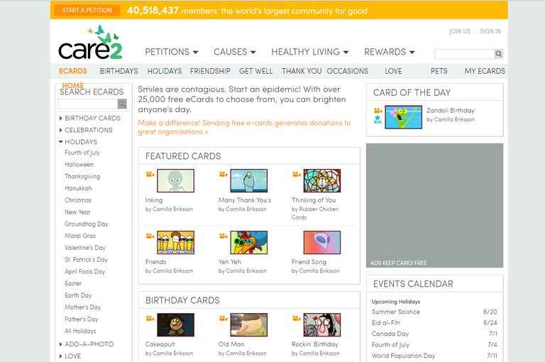 11 Places to Find Completely Free Ecards – Free Birthday Cards Online No Registration