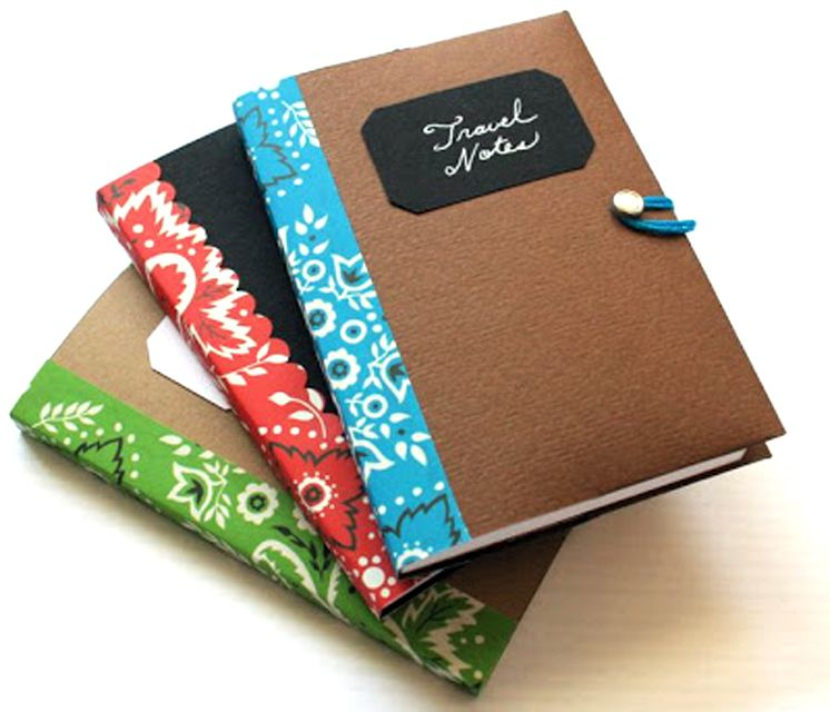 Simple Book Cover Names : Ways to decorate a notebook