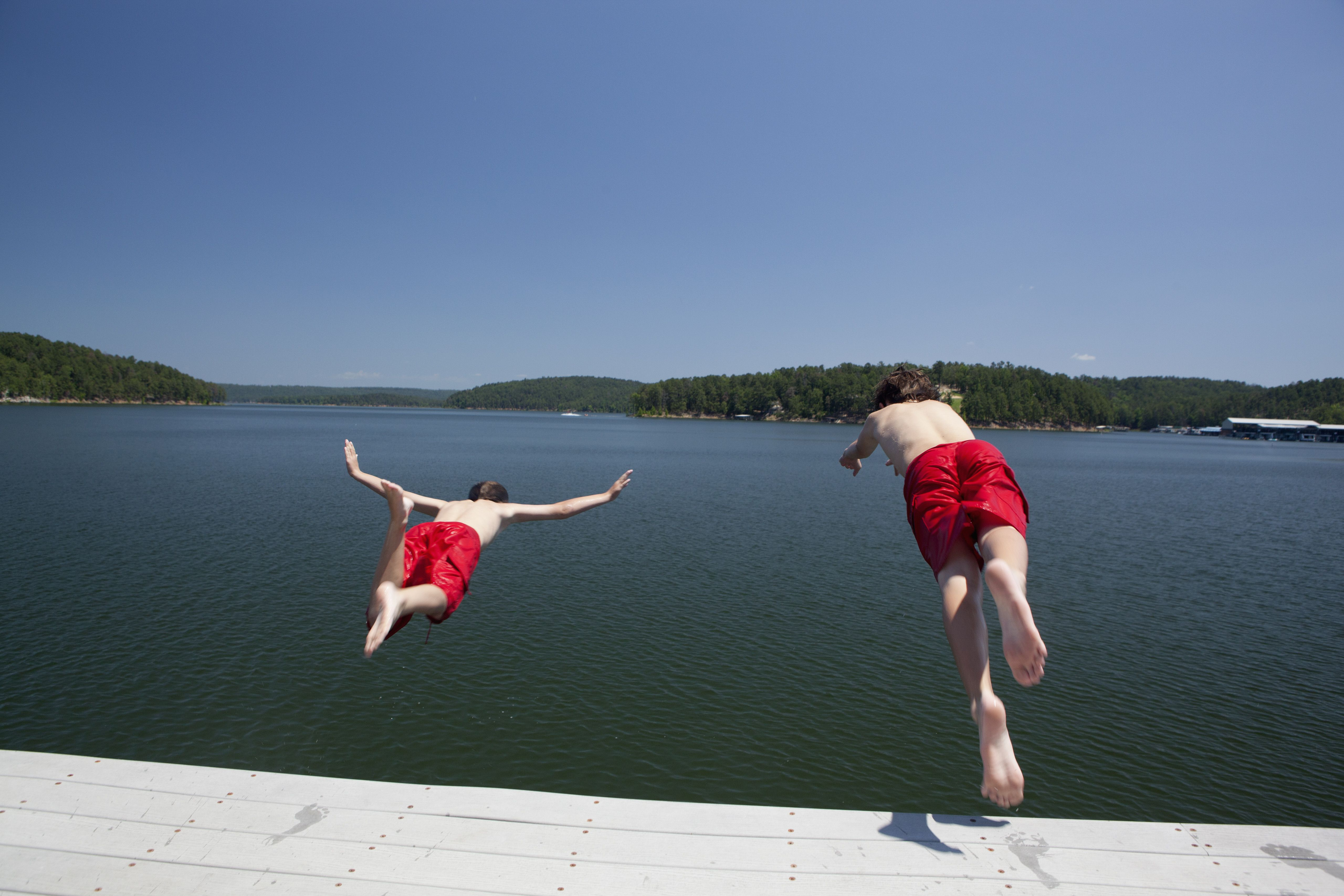 Best Lakes For Swimming In And Around Central Arkansas