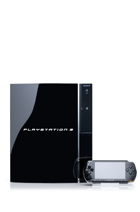 PS3 Console with PSP