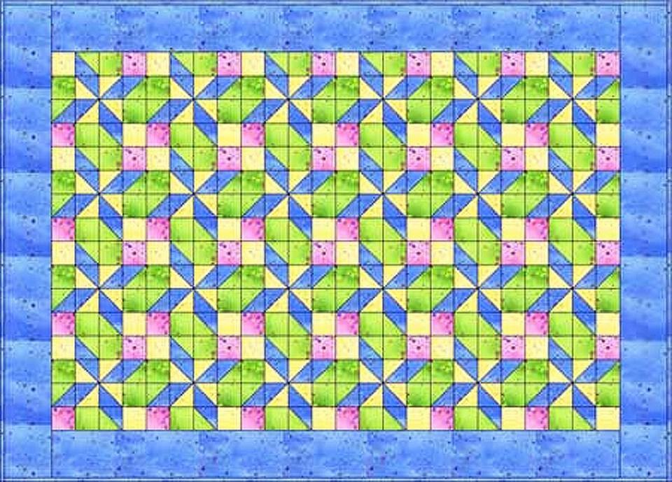 Pretty in Pastels Quilt Pattern