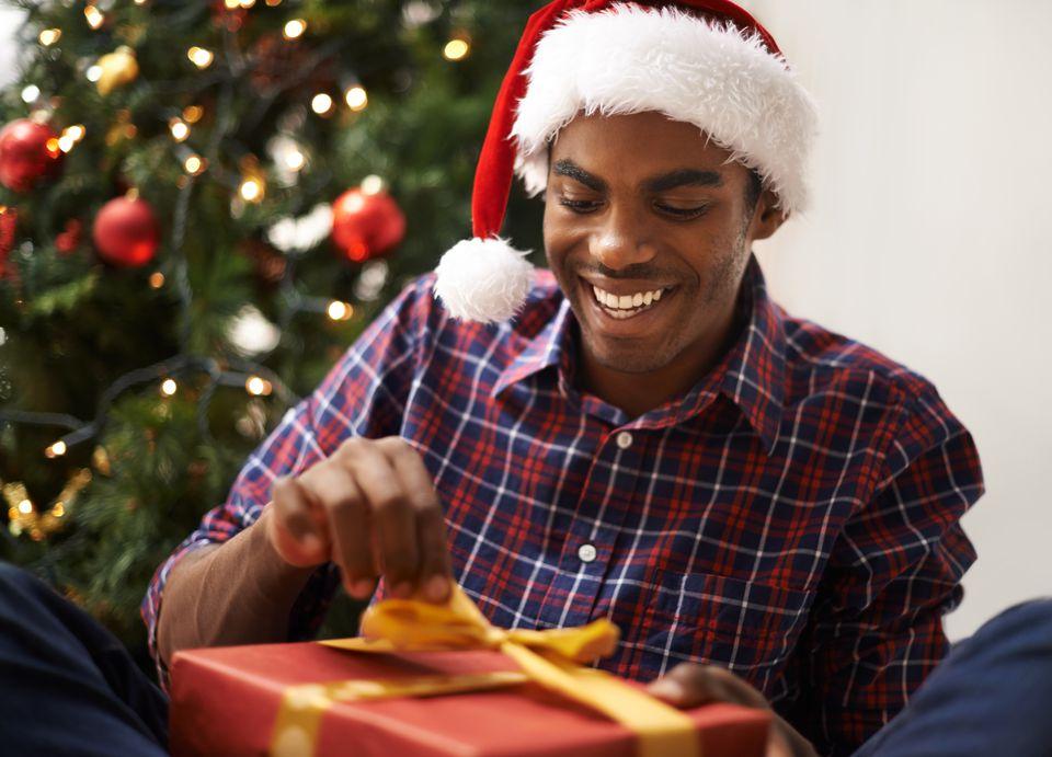 Sneaking a peek before Christmas