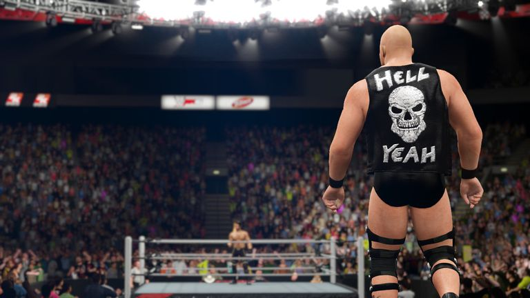 WWE 2K16 screen