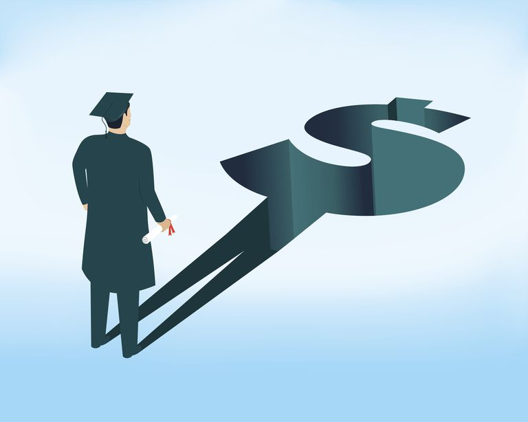 Student loan concept