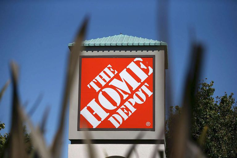 A sign stands in front of a Home Depot store on May 21, 2013 in El Cerrito, California. Home Depot reported an 18 percent surge in first quarter income with earnings of $1.23 billion, or 83 cents a share compared to $1.04 billion, or 68 cents a share one year ago.