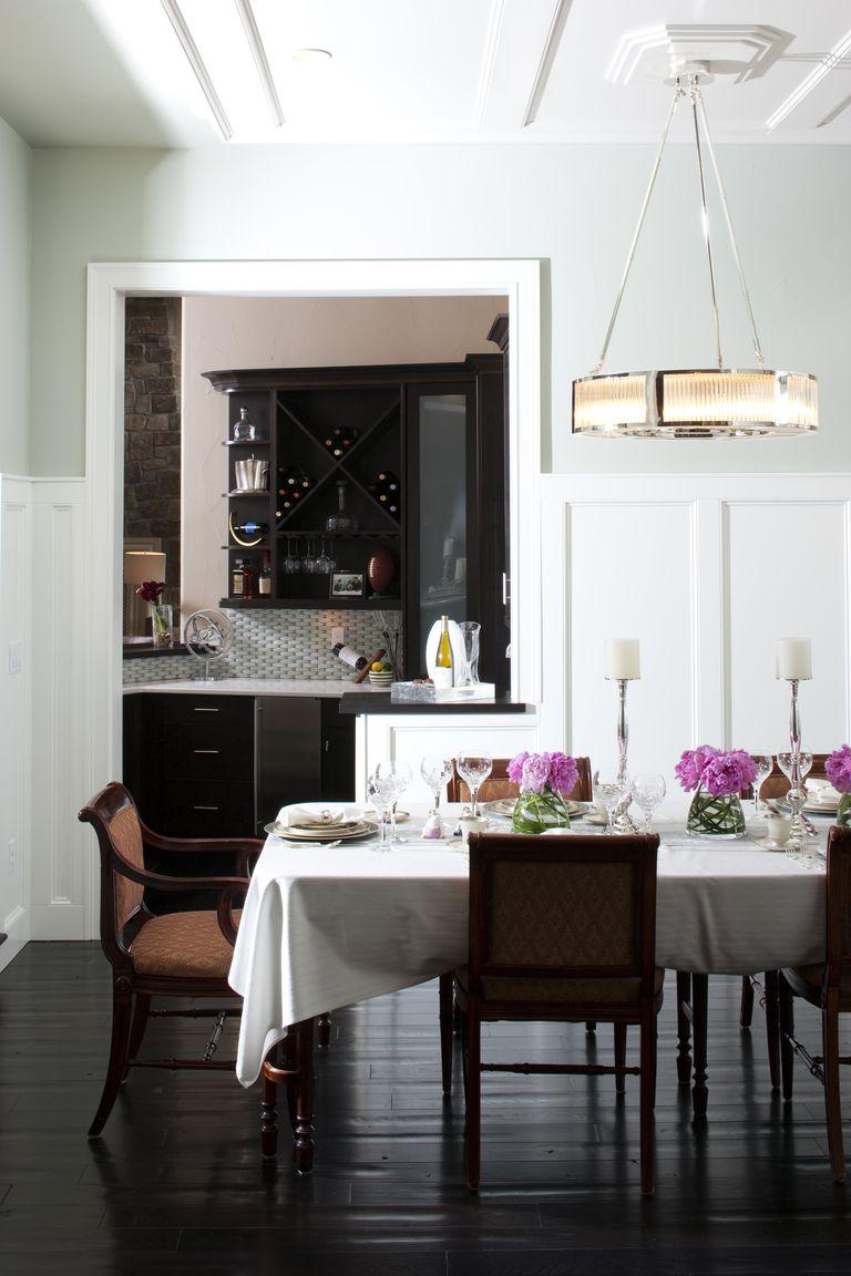 Consejos para decorar tu comedor formal for Comedor en planta