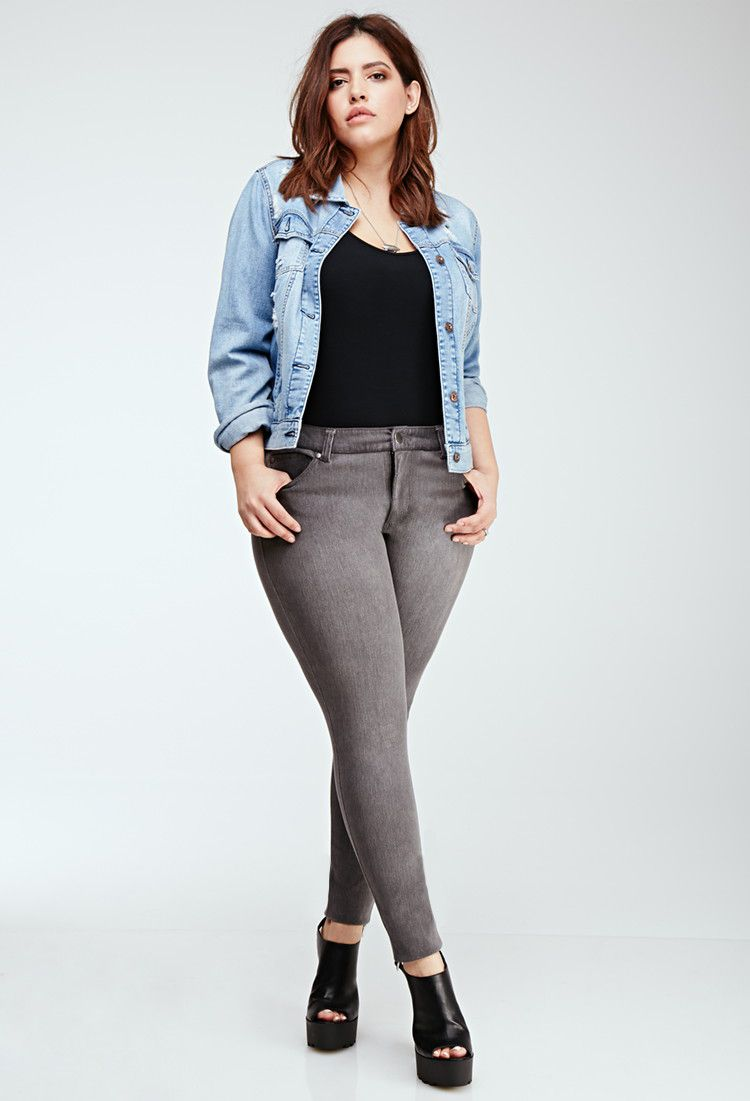 How to Wear Skinny Jeans if You re Plus Size