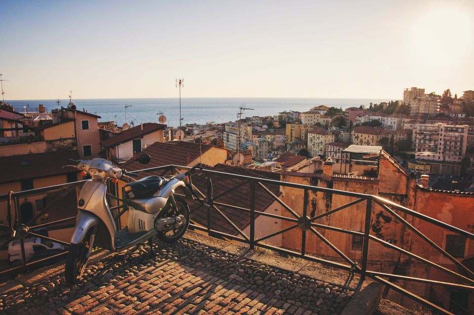 Sanremo - view from top of old town