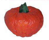 Grocery Bag Pumpkin Craft